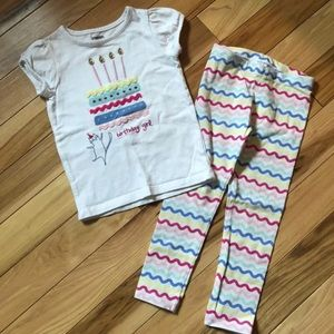 Gymboree Birthday Outfit 3T